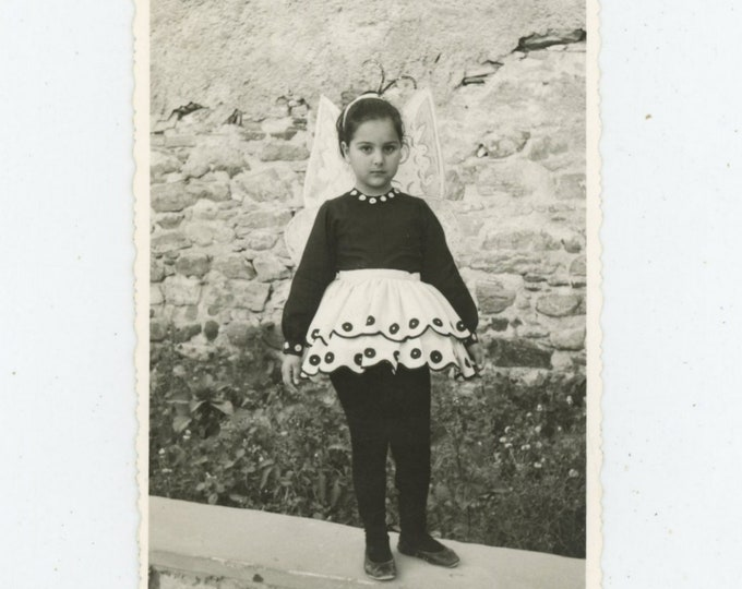 "Vintage Snapshot Photo: ""Butterfly"", 1960s, Greece [89722]"