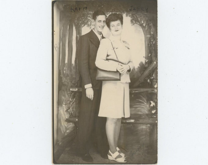 Vintage Arcade /Photo Booth, 1940s: Raph & Jerry [86688]