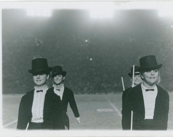 Vintage Snapshot Photo: Cheerleaders [812754]