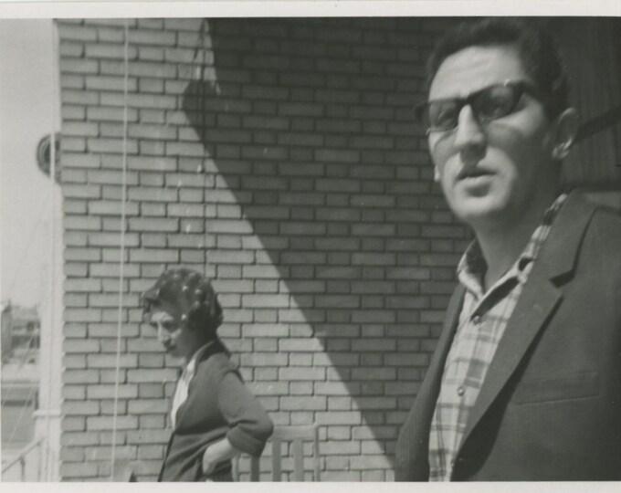Vintage Snapshot Photo: Couple, Turkey, 1960s [85676]