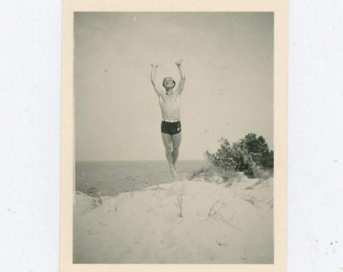 Vintage Snapshot Photo: Jump [812756]