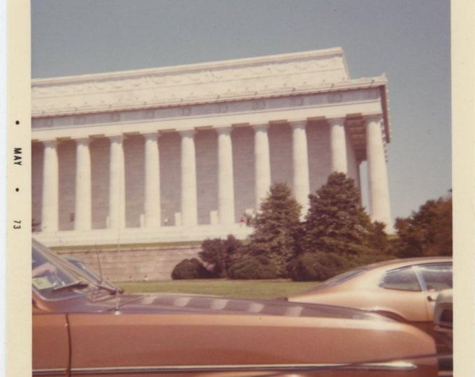 Washington D.C. 1973: Vintage Snapshot Photo [85675]