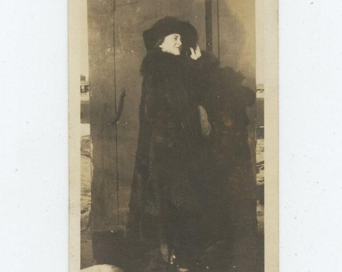 "Vintage Snapshot Photo: ""Babe""1924 [86697]"