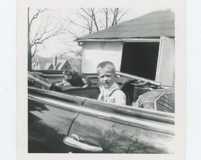 Vintage Snapshot Photo: Sweet Ride [83658]