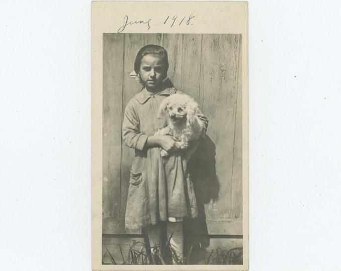 Vintage Snapshot Photo: June 1918 (87698)