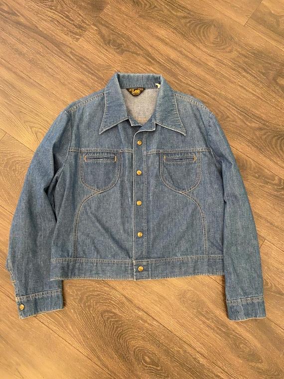 Rare 1970s Boxy Lee Denim Jacket