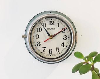 Horloge Vintage Steel Seiko Ship's Clock.