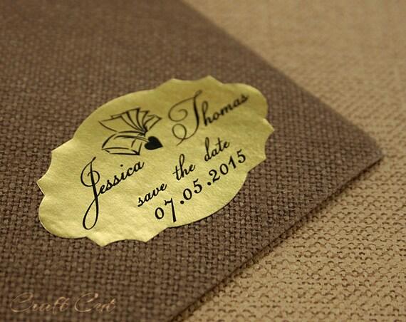 30 Gold Personalisierte Aufkleber Gold Hochzeit Label 2 Zoll Sparen Das Datum Aufkleber Gold Sparen Das Datum Label Buch Mit Herz Ovale Etiketten