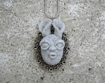 """Bunny necklace """"Kisses"""""""
