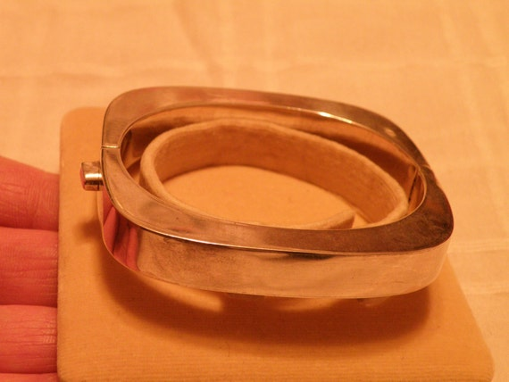 Sterling Silver Clamp Bracelet