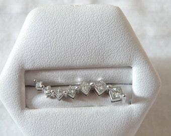 14K Gold Diamond Pendant - 1.20 ctw in Diamonds