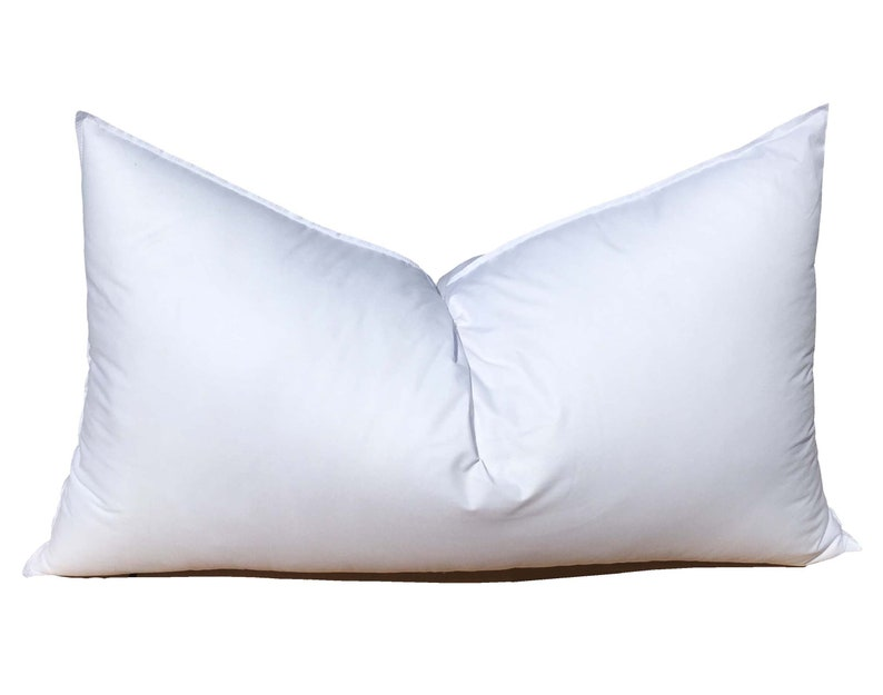 18x30 Synthetic Down Pillow Form Insert for Craft and Pillow image 0