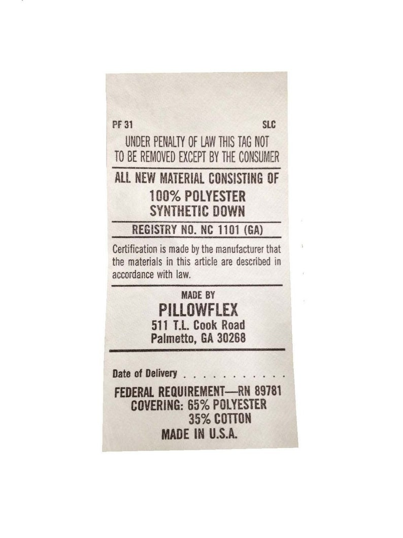 SKU 520 Custom Non Returnable 16x42 Synthetic Down Pillow Form Insert for Craft and Pillow Sham  Alternative Down Micro DenierFaux Down