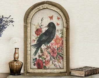 """Raven Wall Art 