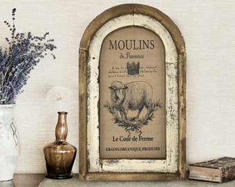 "French Farmhouse Decor | 14"" x 22"" 