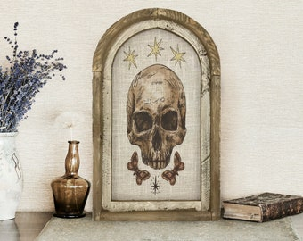 """Skull Wall Art 