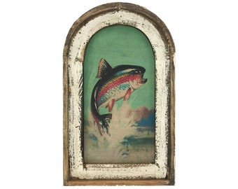 "Trout Wall Art | 14"" x 22"" 