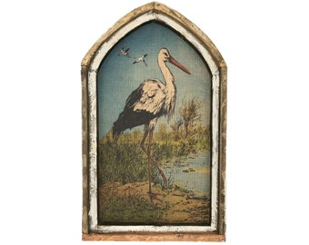 "Heron Wall Art | 18"" x 30"" 