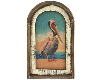 "Pelican Wall Art | 14"" x 22"" 