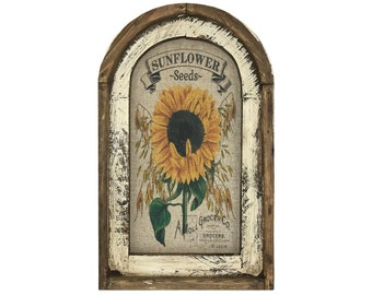 "Sunflower Wall Art | 14"" x 22"" 