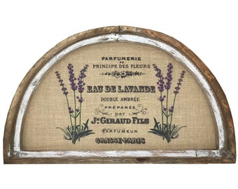 "Lavender Wall Art | 30"" x 18"" 