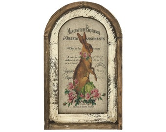 "Rabbit Wall Art | 14"" x 22"" 
