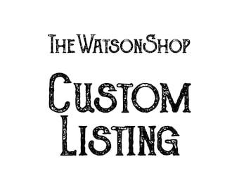 Custom Listing: Kim