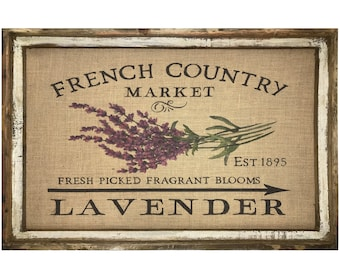 """Lavender Wall Art 