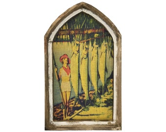 "Tarpon Fishing Wall Art | 18"" x 30"" 