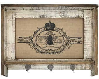 "Bee Wall Art | 31"" x 24"" 