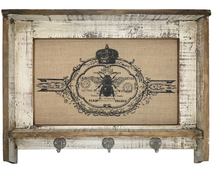 "Featured listing image: Bee Wall Art | 31"" x 24"" 
