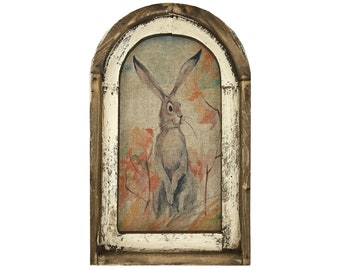 "Bunny Wall Art | 14"" x 22"" 