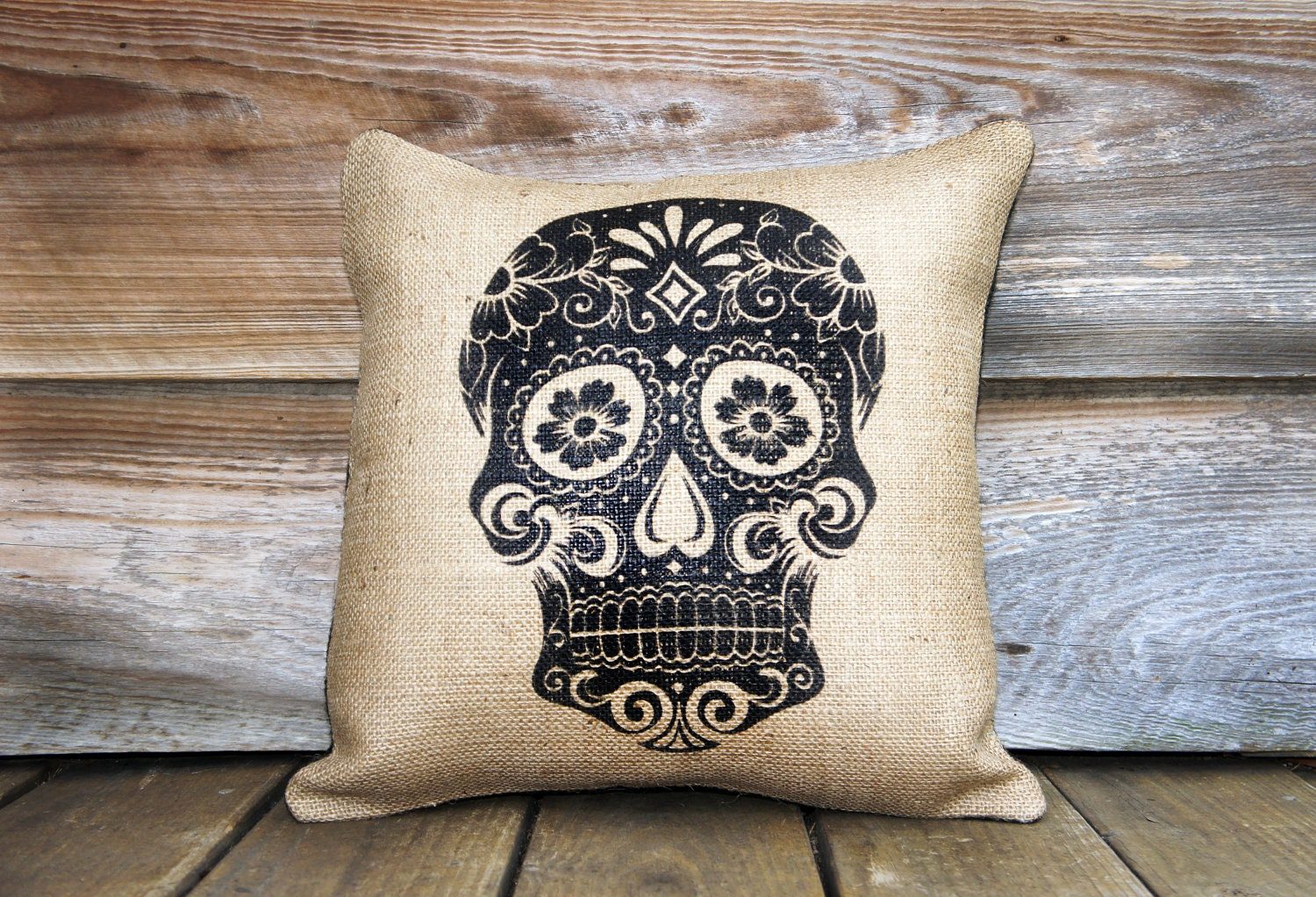 Day Of The Dead Pillow Throw Pillow D 237 A De Los Muertos