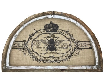 """French Bee Wall Art 