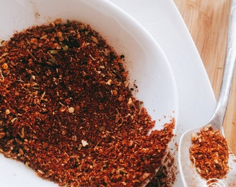BBQ SPICE RUB | Yucatan Rojo |  gift for him & her | grill spices | Grilling gift | bbq rub | Spice set | Herbs and spices | seasonings