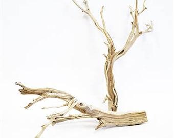 "Sandblasted Ghostwood (California Driftwood), 18"", 1 piece"