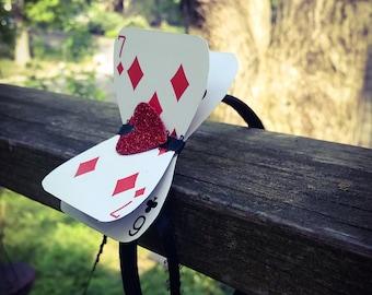 SUPER SALE! Queen of Hearts - Alice in Wonderland Headband