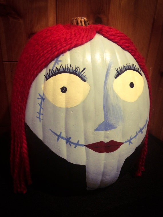 Items Similar To Nightmare Before Christmas Sally Pumpkin On Etsy