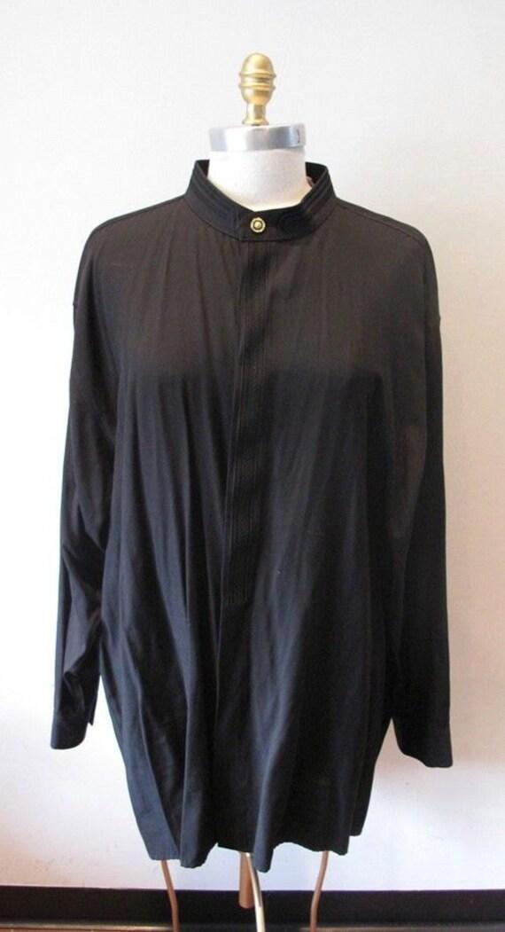 NEXT ORIGINAL Vintage Black Shirt/ Dress XL