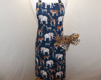 Wild Animals All Purpose Apron