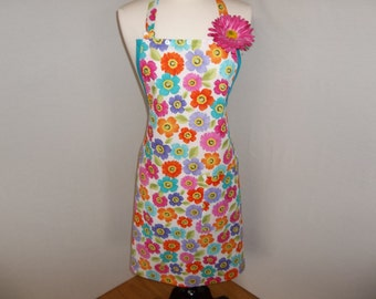 Colorful Bouquet All Purpose Apron