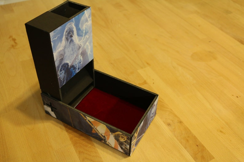Dice Tower  Collapsable  PATTERN ONLY image 0