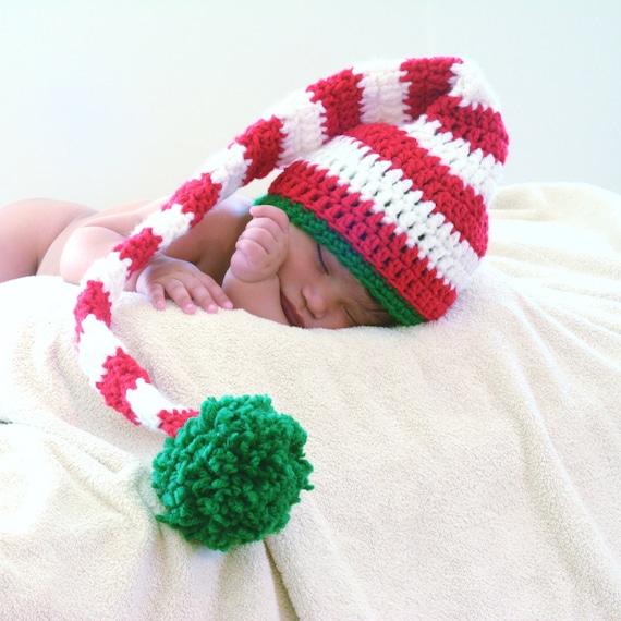 Crochet Baby Elf Hat Etsy