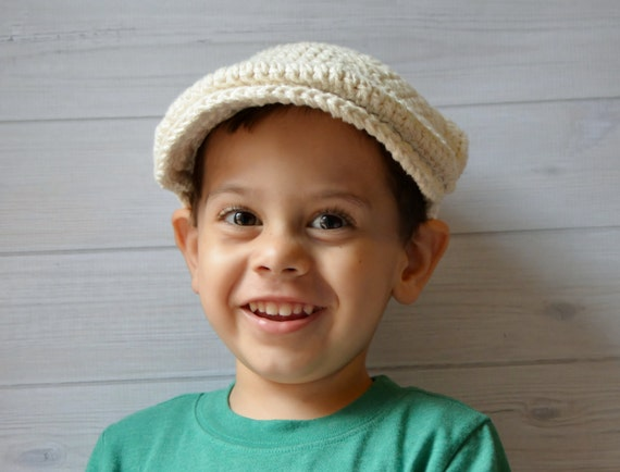 Häkeln Sie Baby Boy Hut Scally Kappe Balloon Mütze Etsy