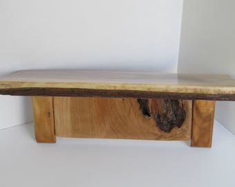 Black walnut shelf, 15""