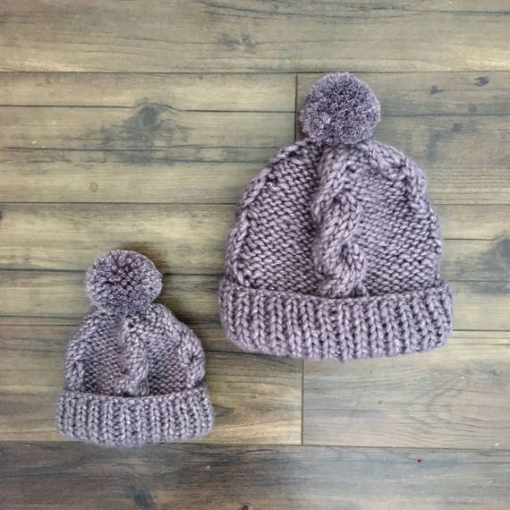Arctic Mommy   Me Beanies  6be969744d4