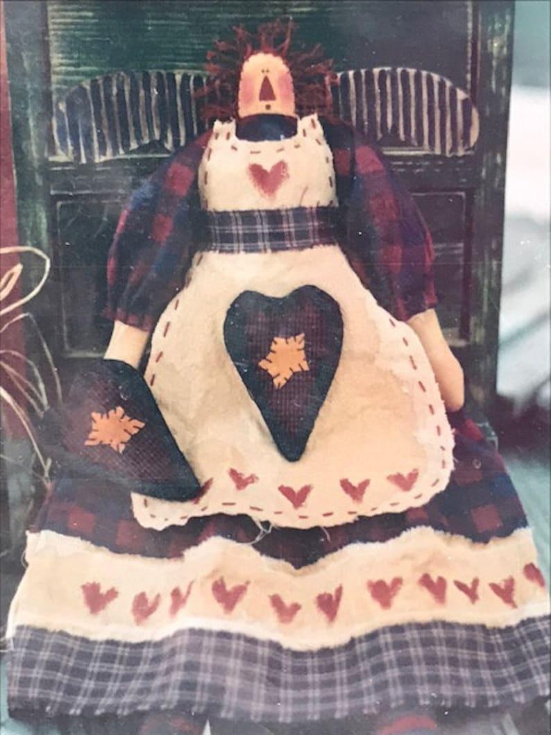 Meme/'s Quilts Willie B Snow Guardian Annie Decorative Dolls UNCUT
