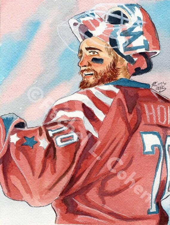 Braden Holtby Washington Capitals Winter Classic NHL Hockey  77db1bdd49fd
