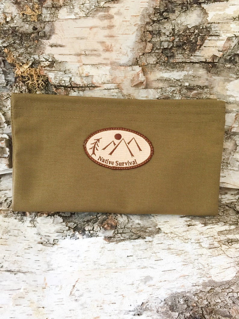 Large Utility Pouch Autumn Brown image 0