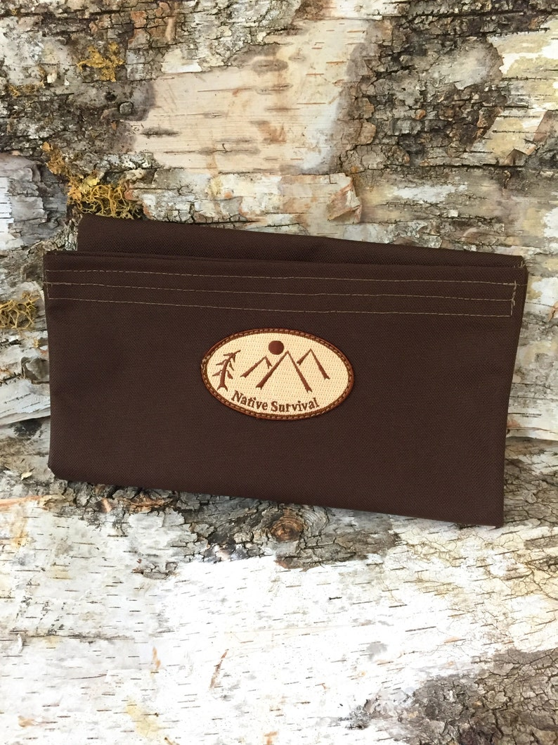 Large Utility Pouch Earth Brown image 0